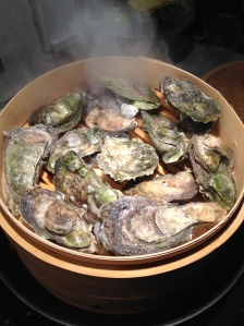Oysters ready