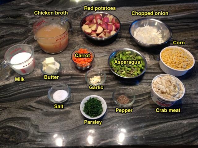 Crab and Corn Chowder